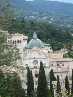 Assisi from fortress