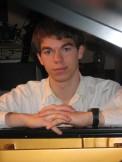 josh at his piano