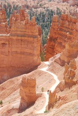 navajo trail, bryce canyon, utah