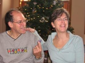 smiling parents