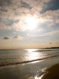 westport beach sunset