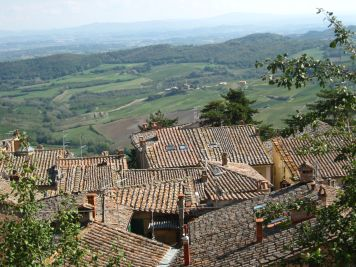 Tuscan rooftops