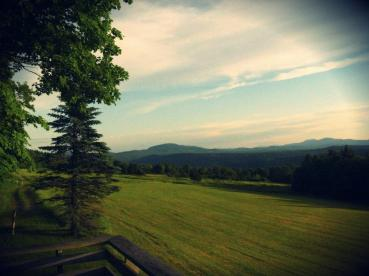 vermont late afternoon
