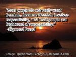 freedom-responsibiity quote