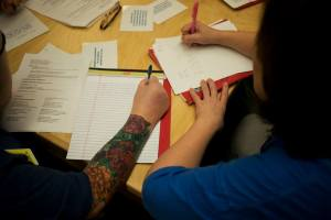 photo from incarcerated women's writing group, VT