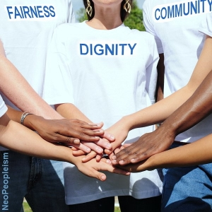 fairness, dignity, community